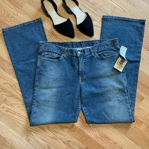 Lucky Brand Peanut Bootcut Jeans 18/34 NWT C2